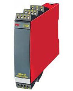 ISOLATEUR GALVANIQUE RAIL DIN ENTREE ET SORTIE 0-4/20MA 0/10V 24VAC/DC