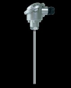 SONDE PT100 CL.B Ø6*100MM CABLE SILICONE 5M -50 A +180°C