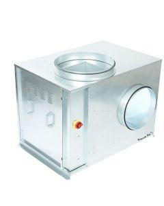 CAISSON C4 400°C / 0,5H A PRESSION CONSTANTE - RENVOI ALARME - MOTEUR EC ENTRAINEMENT DIRECT - MONO 230V - 5Hz, 1,6A, 310W SIM EC REGULO 22T IPC MONTES/CABLES