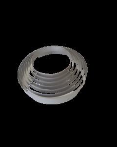 GRILLE DE PROTECTION INOX 304L DIAMETRE 360mm POUR MODULAIR SF3 DF3 DF4.5 - CLIMINOX 6024