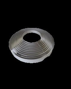 GRILLE DE PROTECTION INOX 304L DIAMETRE 460mm POUR MODULAIR SF3 DF3 DF4.5 - CLIMINOX 6025