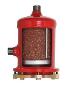 BOITIER FILTRE DESHYDRATEUR A SOUDER 2'' 1/8 - 54 mm A 2 CARTOUCHES REMPLACABLES T100