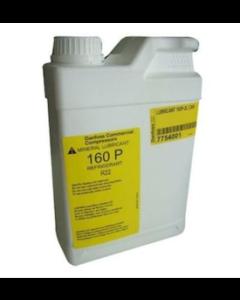 Huile bidon de 2 litres - 160P R22 minérale pour compresseur MT/MTM