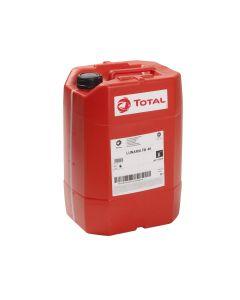 Huile bidon de 20 litres - Total Lunaria FR46 minérale ISO 46