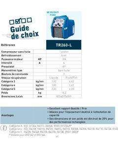 STATION DE RECUPERATION PETIT MODELE TR260L