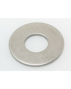 RONDELLE PLATE LARGE L NFE 25514 INOX A2 - M10