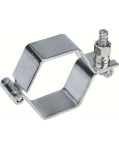 Collier Hexagonal sans Tige en 2 Pièces